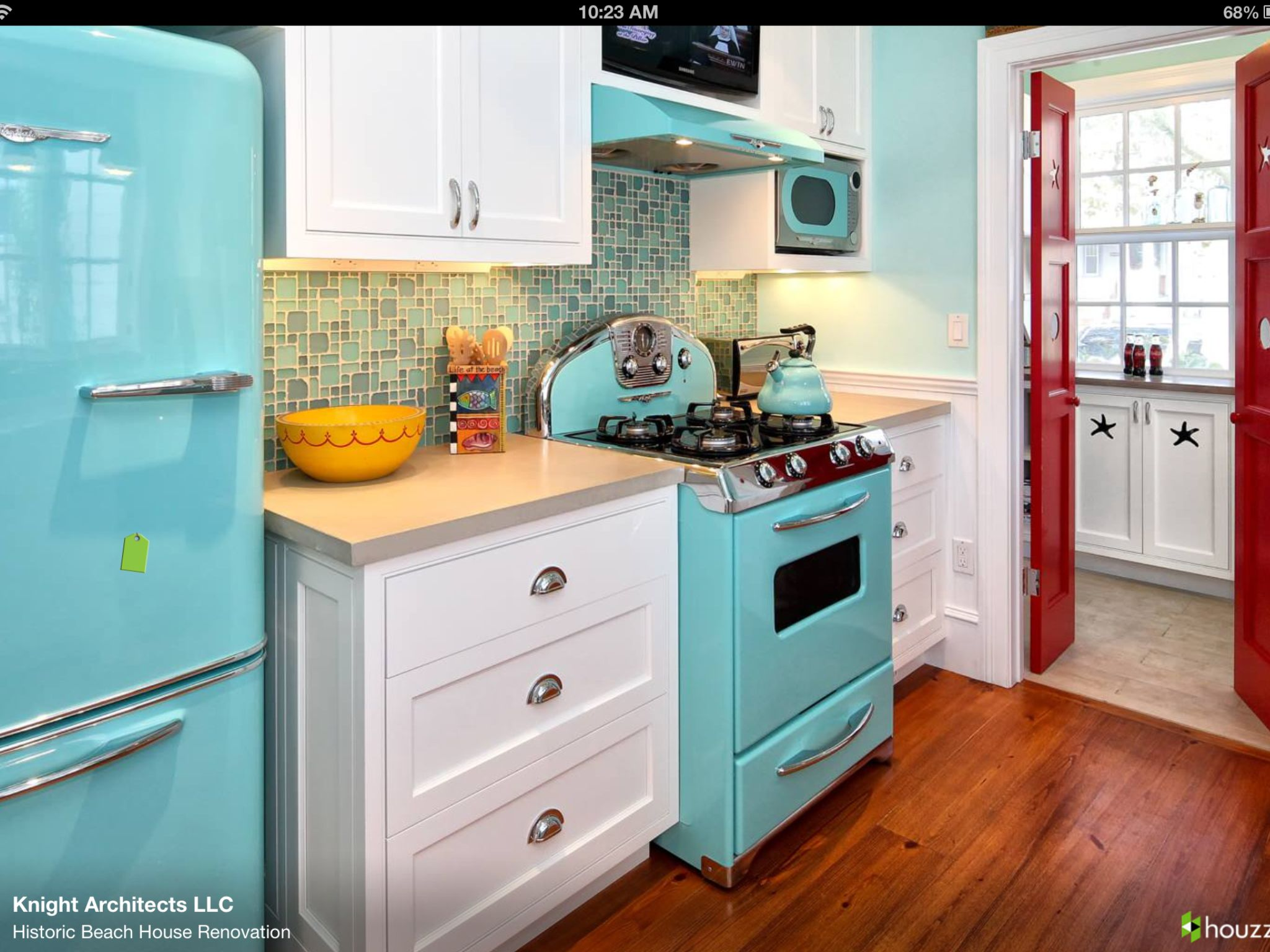 turquoise kitchen appliances step stool for love the everything