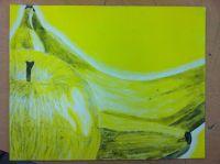 Monochromatic painting | Art | Pinterest