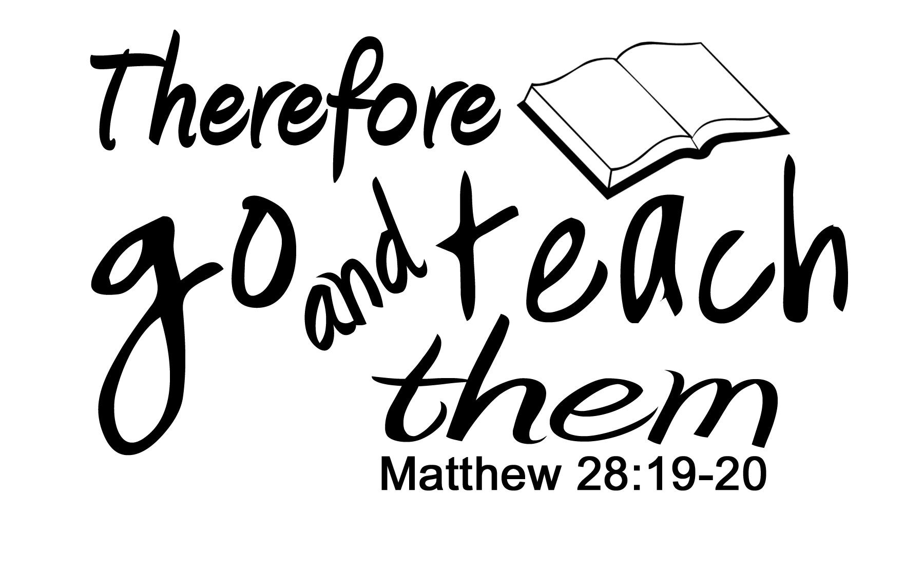Matthew 28 20 Kjv Page Coloring Pages