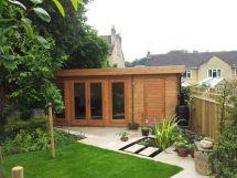 Garden Designs for Log Cabins