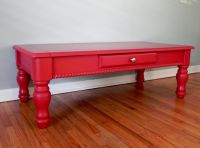 Cherry Red Coffee Table | Colorful Furniture - red | Pinterest