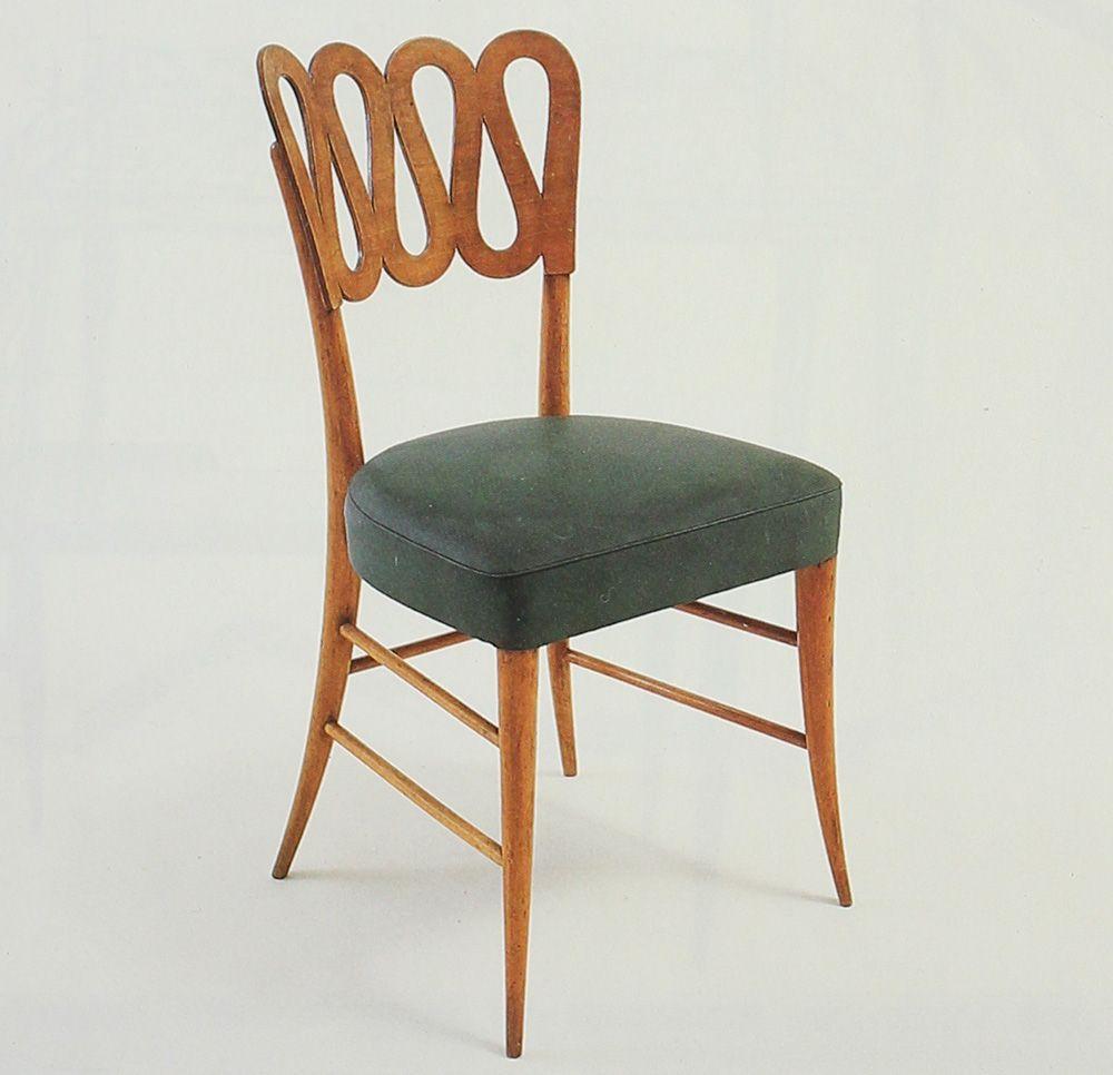 Gio Ponti chair  Furniture Love  Pinterest