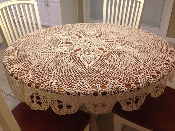 Pineapple Tablecloth Crochet