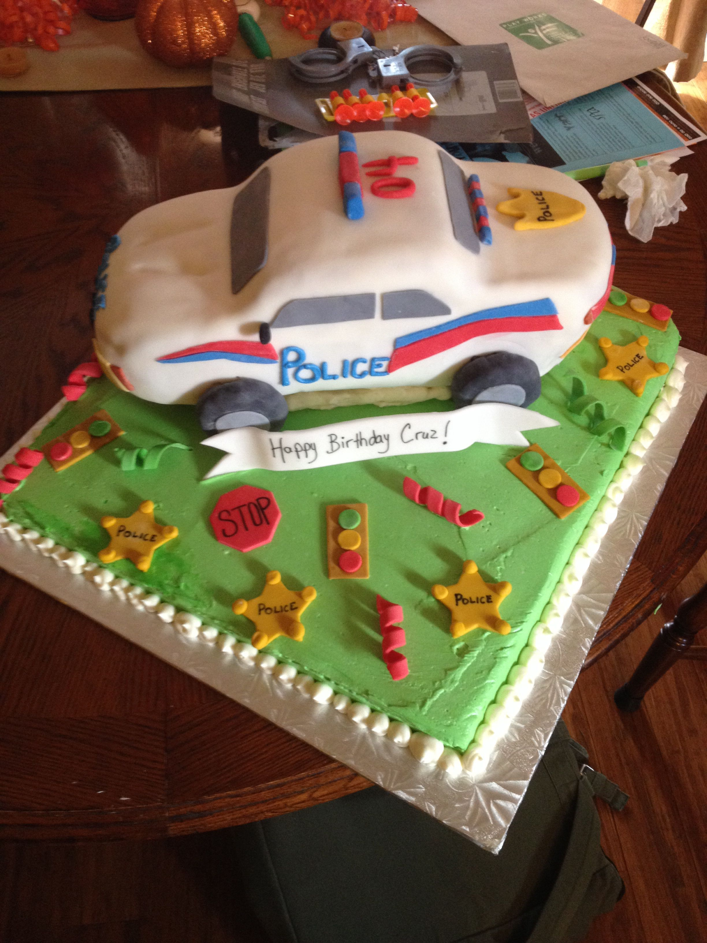 Pin Police Car Cake Ideas Pic 9 Coolest Birthday Cakes