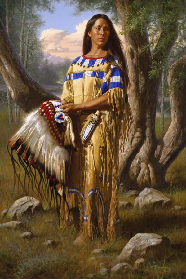 Native American Indian Art Paintings
