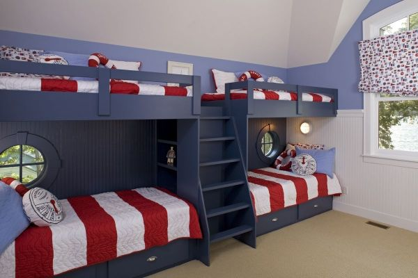 Nautical Bunk Bed Idea
