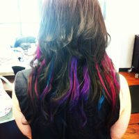 Funky fun hair color. | Hair ideas/colors | Pinterest