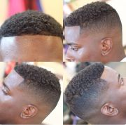 cool fade. black men haircuts