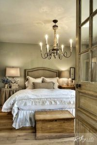 LOVE this rustic AND romantic bedroom! | bedrooms | Pinterest