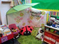 Book corner idea- reading garden | Education | Pinterest