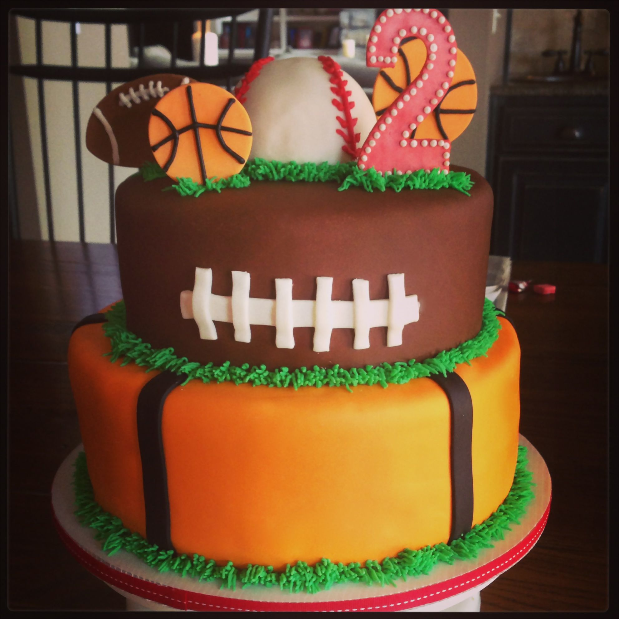 Sports Cake Ideas Images