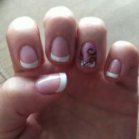 Swirl nail design | Nails, Nails, and more Nails!! | Pinterest