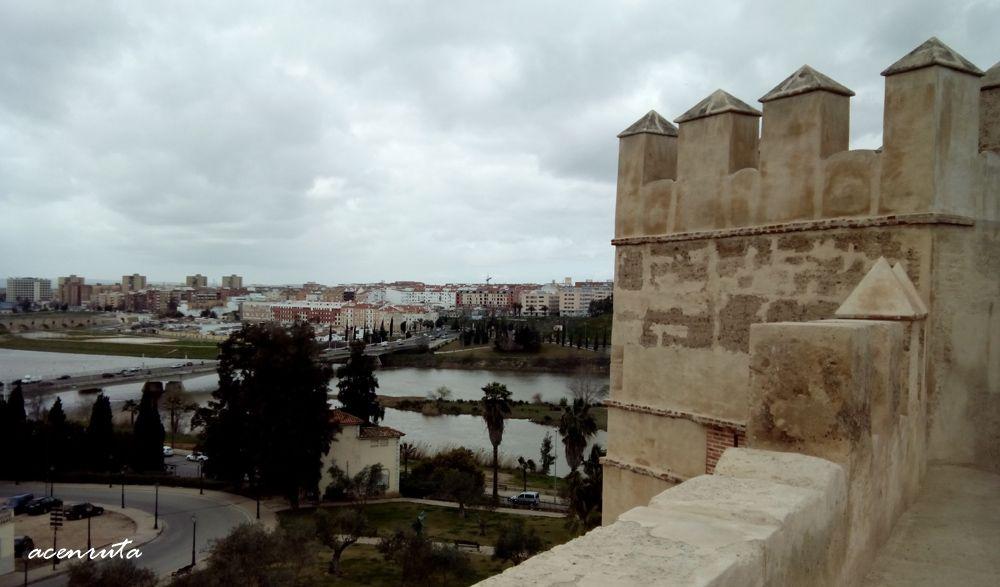 Badajoz. Vistas desde la Alcazaba