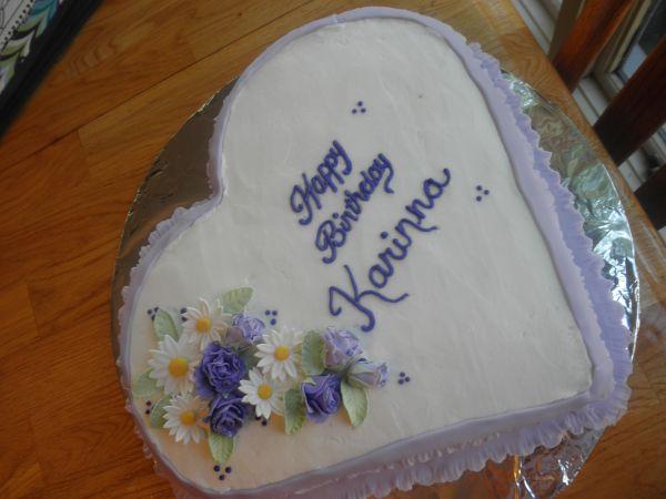 Karinna's 6th birthday cake   Cake Ideas / Wilton ...