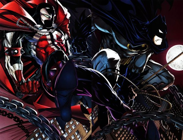 Todd McFarlane Spawn vs Batman