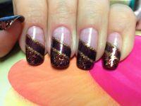 Fall nail design | Nails | Pinterest