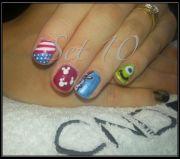 disney nail art moda fashion