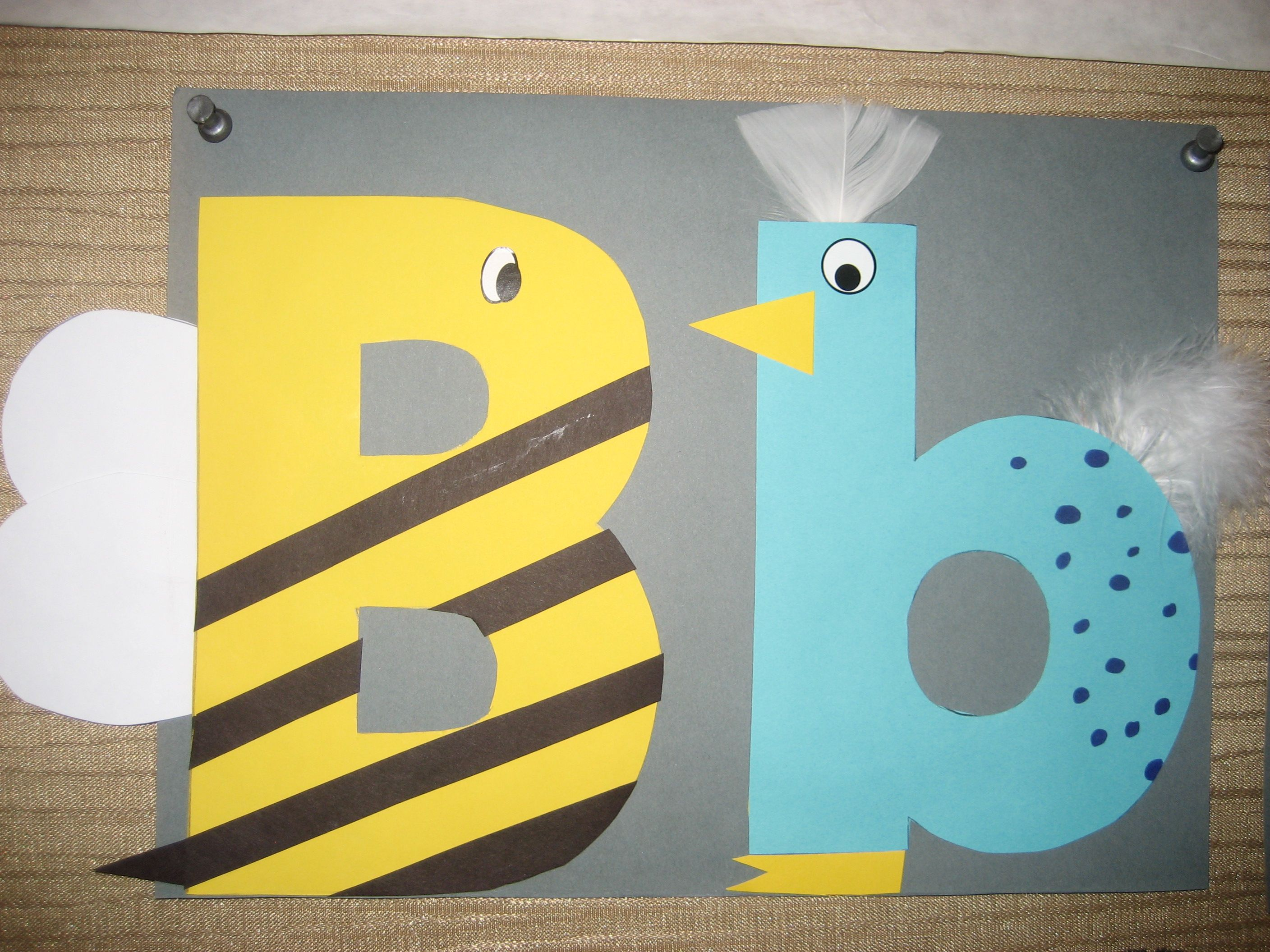 Bb Letter Of The Week Art Project