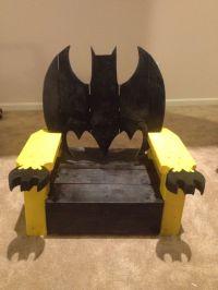 Batman chair Ok so my husband helped:) | Wood Chairs to ...