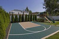 backyard sport court. | Outdoor ideas & fun | Pinterest