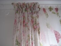 Shabby chic drapes | curtains | Pinterest