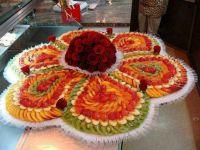 Fruit tray! | DECORATIVE FOOD | Pinterest