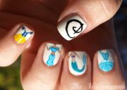 #nailart #disney #princess nail