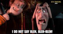 Poor #drac. Bleh Bleh-bleh Quotes And