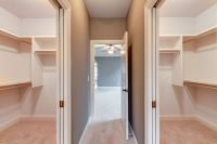 Separate Walk-In Closets w/pocket doors   House ...