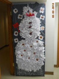 winter door decoration | sunday school | Pinterest