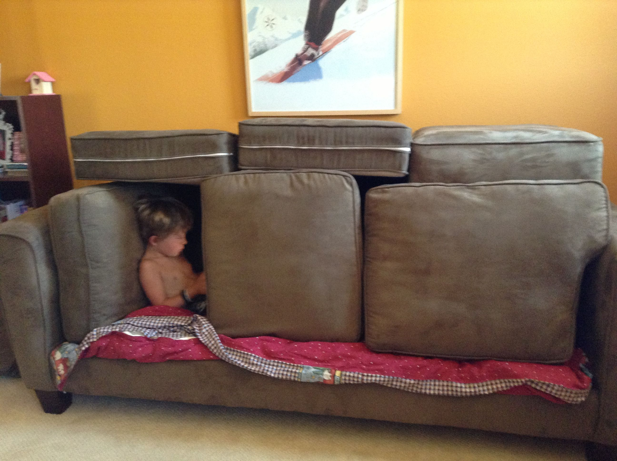 cool sofa forts leather tapestry fort dotty and fred pinterest