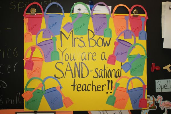 Teacher Appreciation Poster Board Ideas