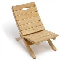 Simple Wooden Beach Chair | Make | Pinterest