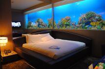 Bedroom with Aquarium