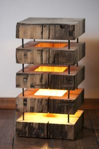 Wooden lamp | Mood lamp | Pinterest