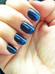 navy blue nails dream wardrobe