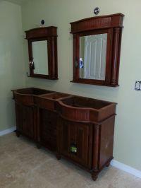 Custom bathroom vanity and mirrors   Bathroom Ideas ...