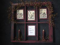 Reclaimed window | Primitive Ideas | Pinterest