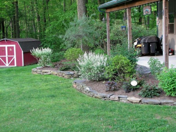 porch landscaping outdoor