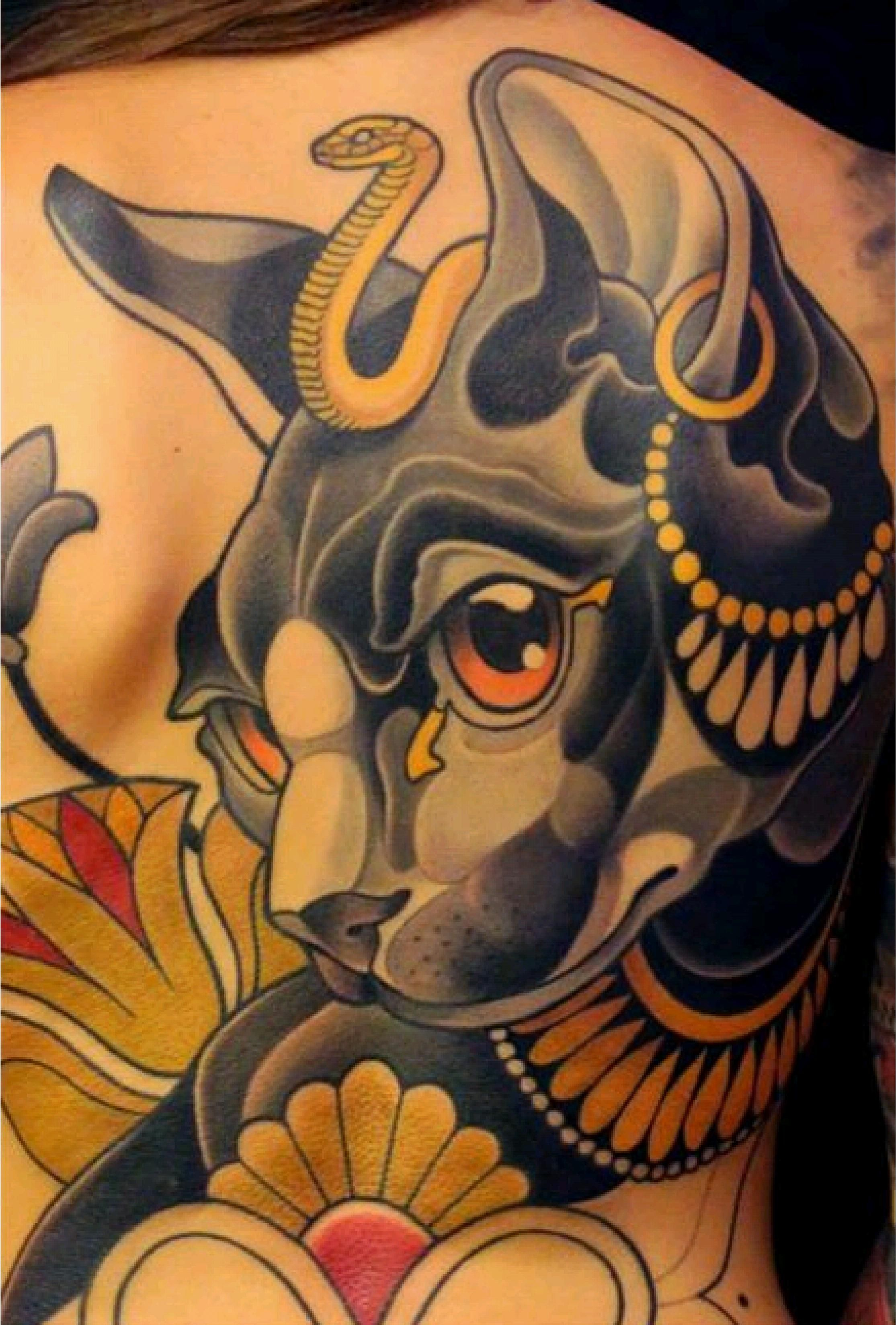 Awesome Animal Tattoos Canine Guff