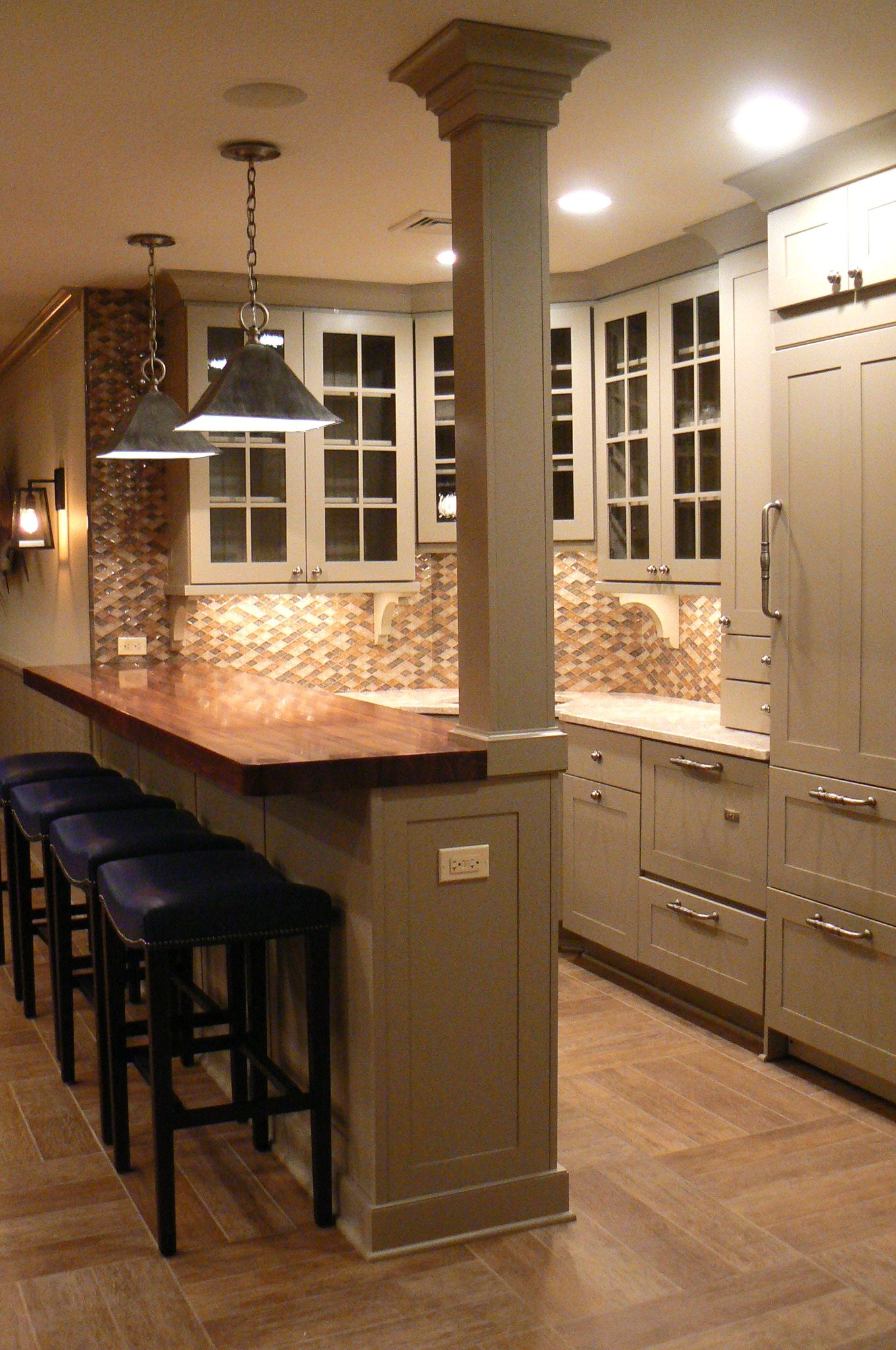 how to build a kitchen island with breakfast bar small appliances basement | for home pinterest
