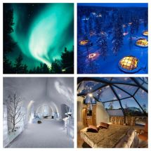 Kakslauttanen Glass Igloo Northern Light Travel