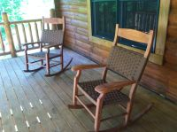 Rocking chairs on front porch | Sara's home | Pinterest