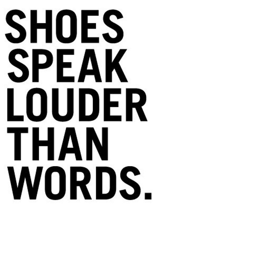 Quotes About Shoes Fashion. QuotesGram