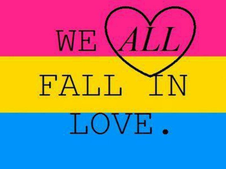 Image result for pansexuality be who you are