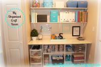 My craft room   Organization - Crafts   Pinterest