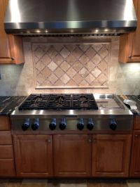 Rustic backsplash | Design with Tile | Pinterest