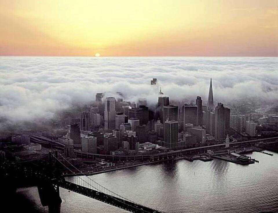 Fog in San Francisco   Pictures   Pinterest