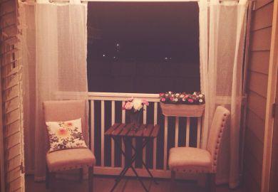 Apartment Patio Curtains