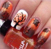cute fall nail design nails